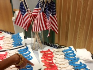 Stone Ridge Gator Cookies: Katie Ledecky Celebration